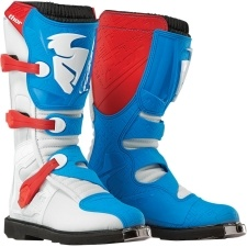 BLITZ BOOT RED/BLUE