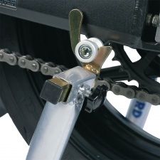 BOBBINS FORKS FOR REAR PADDOCK STAND