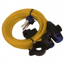 CABLE LOCK 1,8M x 12MM - GOLD