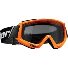 COMBAT SAND FLO ORANGE/BLACK GOGGLE