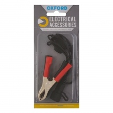 CROCODILE CLIPS TO USA/SAE CONNECTOR (0.5mtr lead)