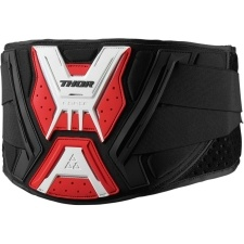 FORCE BLACK/WHITE/RED BELT