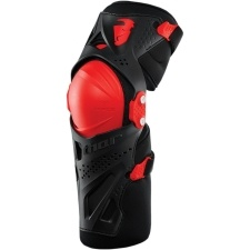 FORCE XP KNEE GUARD RED
