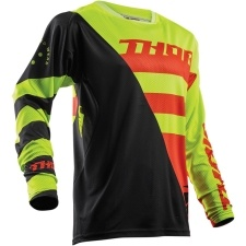 FUSE AIR RIVE LIME/ORANGE JERSEY