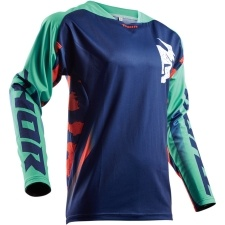 FUSE RAMPANT NAVY/TEAL/ORANGE JERSEY