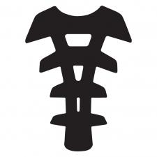 GEL SPINE ARACHNID - BLACK