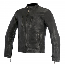 OSCAR BRASS LEATHER JACKET