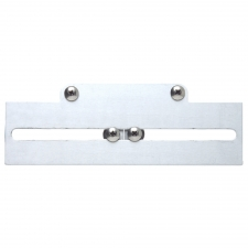 PLATE MATE NUMBER PLATE BRACKET SILVER