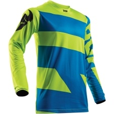 PULSE LEVEL LIME/BLUE JERSEY