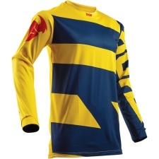 PULSE LEVEL NAVY/YELLOW JERSEY
