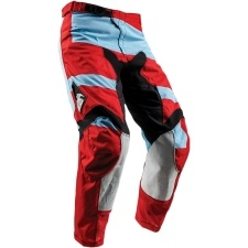 PULSE LEVEL POWDER BLUE/RED PANT