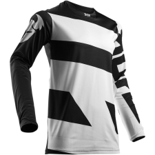 PULSE LEVEL WHITE/BLACK JERSEY