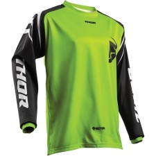 SECTOR ZONES LIME JERSEY