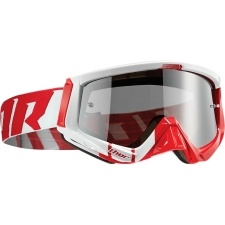 SNIPER BARRED RED/WHITE GOGGLE