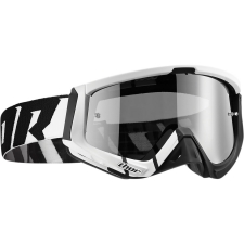 SNIPER BARRED WHITE/BLACK GOGGLE