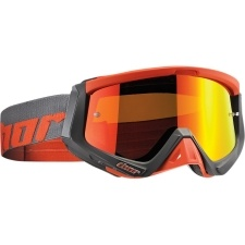 SNIPER WARSHIP CHARCOAL/ORANGE GOGGLE