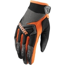 SPECTRUM CHARCOAL/ORANGE GLOVES