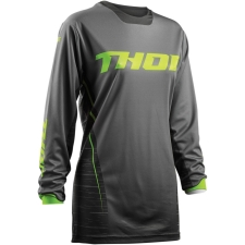 WOMEN'S PULSE DASHE GRAY/LIME JERSEY